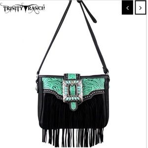 Trinity Ranch Fringe Design Handbag